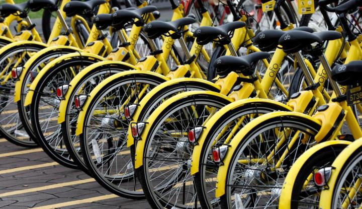 Startup Bike-Sharing Asal China Ini Terancam Bankrut - Warta Ekonomi