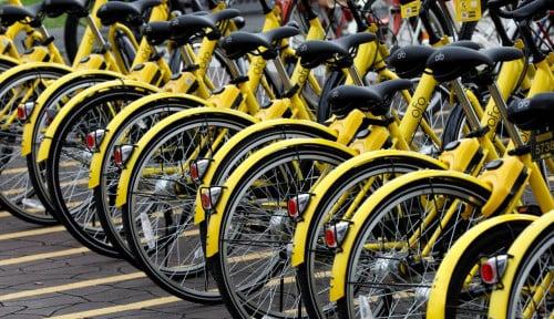 Foto Startup Bike-Sharing Asal China Ini Terancam Bankrut