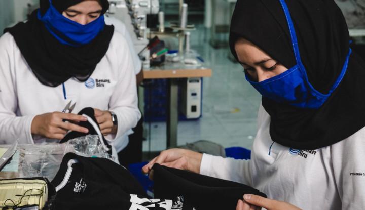 Tingkatkan Layanan, Benang Biru Sediakan One Stop Solution untuk Pelaku Usaha Fashion - Warta Ekonomi