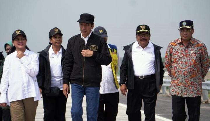 Kata Jokowi, 2024 Aceh hingga Lampung Tersambung - Warta Ekonomi