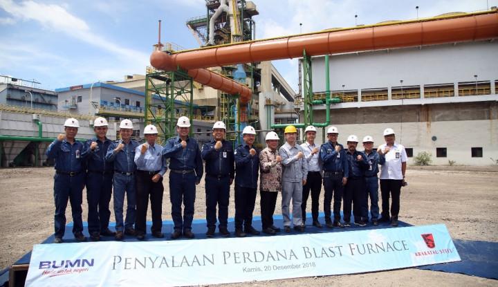 Foto Berita Krakatau Steel Targetkan Kapasitas Produksi Hingga 1 Juta Ton dari Akuisisi Perusahaan BUMN