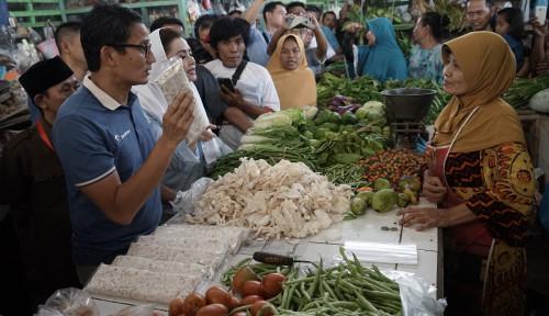 Foto Gerakkan Ekonomi Umat, Sandi Bakal Berdayakan Pesantren