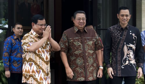 Foto Demokrat Belum Akui Kemenangan Prabowo, Ternyata Gara-Gara Ini