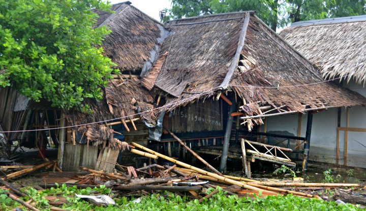 Puting Beliung Rusak Puluhan Bangunan di Bangkalan - Warta Ekonomi