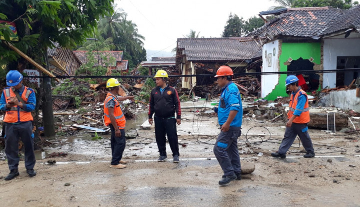 Foto Berita Ada Tsunami, Layanan Telkomsel Kembali Normal