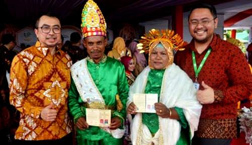 Foto WanaArtha Life Berikan 2.150 Akta Lahir dan 161 Buku Nikah di Gorontalo