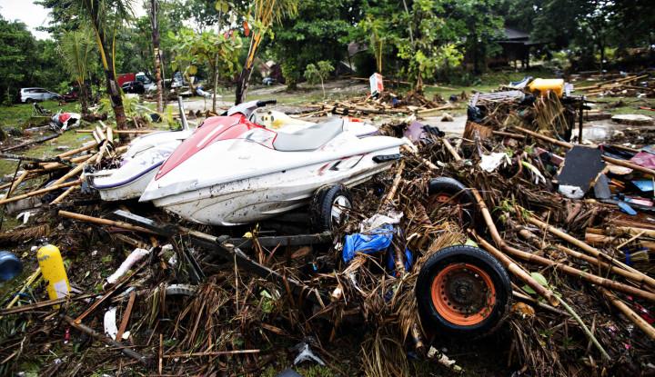 Tsunami Anyer, 16 Orang Rombongan Karyawan Koperasi Masih Belum Ditemukan - Warta Ekonomi