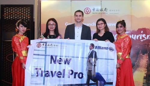 Foto Allianz Indonesia Lindungi NasabahBank of China dengan Asuransi Perjalanan