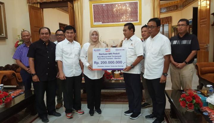Foto Berita BRI Salurkan Bantuan Rp300 Juta untuk Para Korban Bencana Tsunami