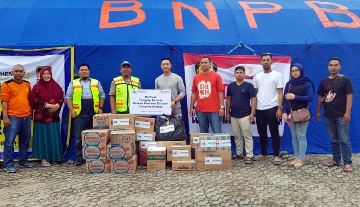 Askrindo Berikan Bantuan untuk Korban Tsunami Banten dan Lampung - Warta Ekonomi