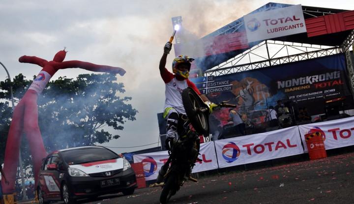 Foto Berita Tingkatkan Market Share di Jawa,Total Oil Gandeng Komunitas Otomotif