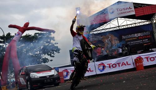 Foto Tingkatkan Market Share di Jawa,Total Oil Gandeng Komunitas Otomotif