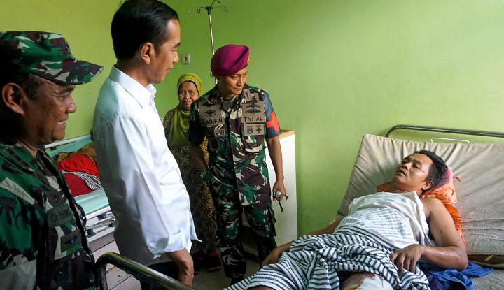 Foto Berita Jokowi Gerak Cepat Tangani Korban Tsunami Selat Sunda