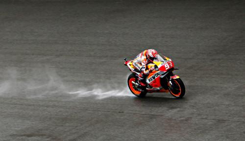 Foto Marc Marquez Kunci Gelar Juara MotoGP di Thailand