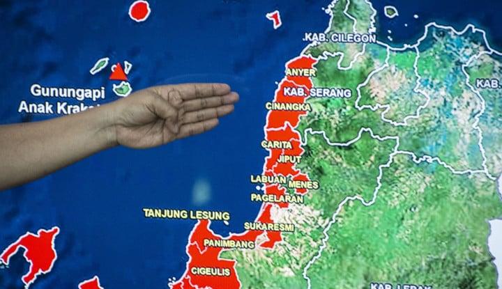 Foto Berita BNPB: Dampak Anak Krakatau Tidak Sebesar Krakatau