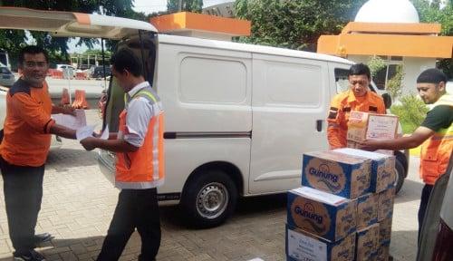 Foto Bantuan Korban Tsunami di Lampung Selatan Terus Mengalir