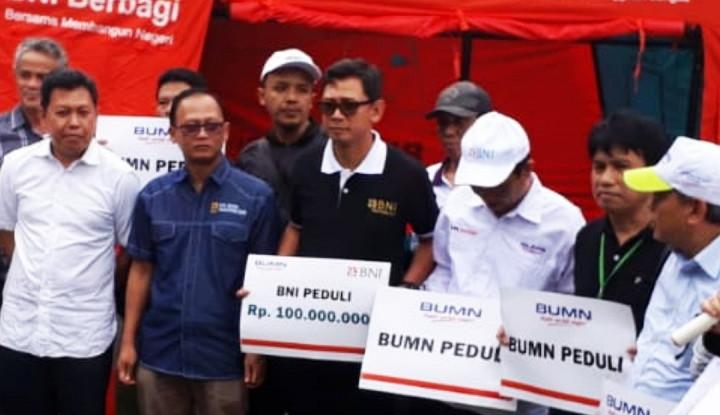 BNI Salurkan Bantuan untuk Korban Tsunami di Lampung - Warta Ekonomi