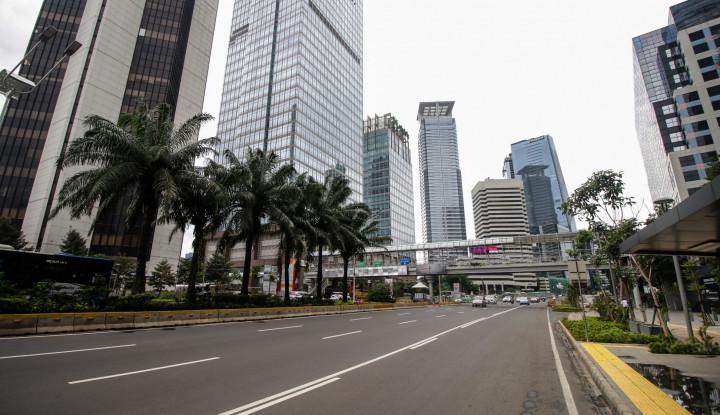 Libur Natal, Jalanan Jakarta Terpantau Lengang - Warta Ekonomi