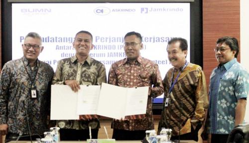 Foto Jamkrindo-Askrindo Kerja Sama Penjaminan KUR Bersama