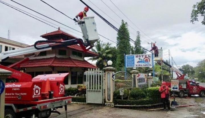 Foto Berita Telkom Pastikan Pemulihan Infrastruktur Telekomunikasi Pasca Bencana Tsunami Selat Sunda
