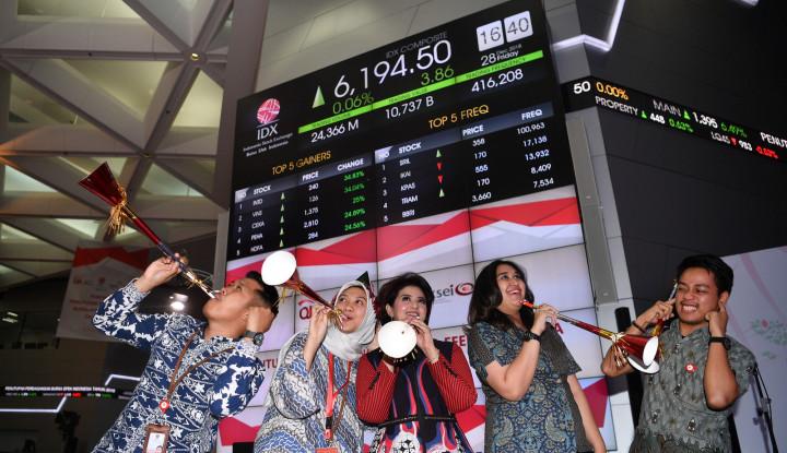 Foto Berita Mantap! Raupan Dana IPO di BEI Capai Belasan Triliun