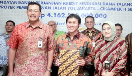Foto BNI Gelontorkan Dana Rp1,39 Triliun untuk Jalan Tol Ruas Jakarta Cikampek II Selatan