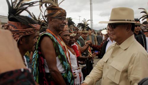 Foto Kata Prabowo: Pusat Suka Lupa Sama yang di Timur