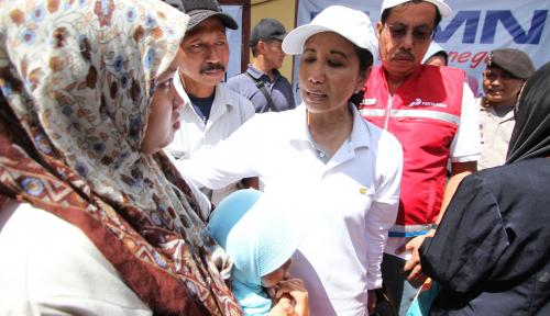 Foto 'Pelat Merah' Sinergi Sejahterakan Petani Tambak Muara Gembong, Menteri BUMN Beri Apresiasi