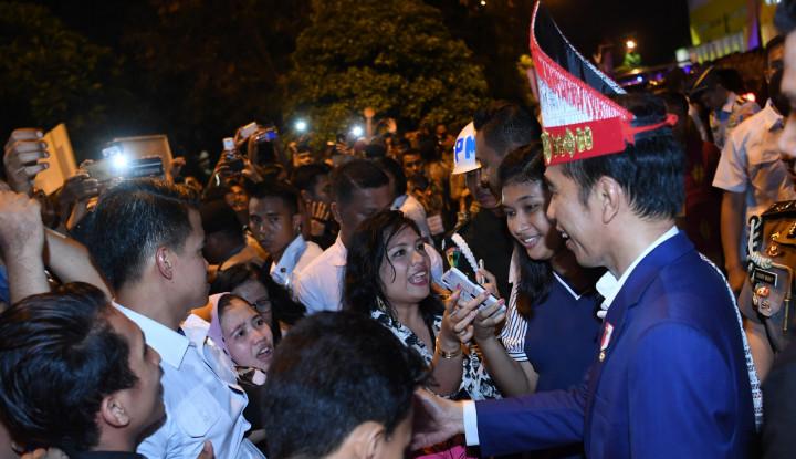 Tegas Jokowi: Persaudaraan dan Persatuan Anugerah Tuhan - Warta Ekonomi
