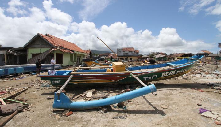 Pertamina Bantu Perbaikan Rumah Terdampak Tsunami - Warta Ekonomi