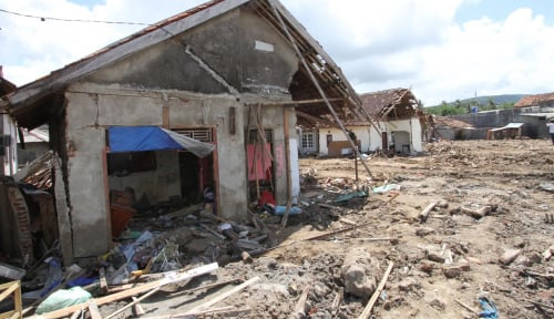 Foto Korban Tsunami Lampung Selatan Tunggu Kepastian Relokasi