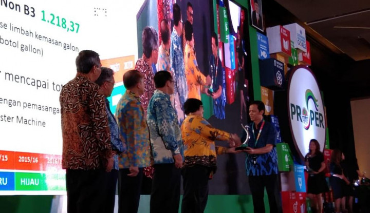 6 Pabrik Danone-AQUA Raih Penghargaan Proper Hijau dari KLHK - Warta Ekonomi