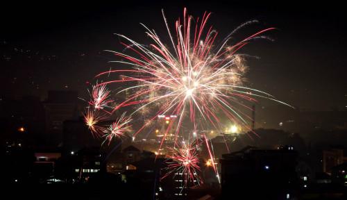 Semarak Perayaan Pergantian Tahun 2020 di Banten Berjalan Aman