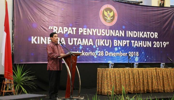 Cegah Terorisme pada 2019, BNPT Terus Aplikasikan Strategi Soft Power Approach - Warta Ekonomi