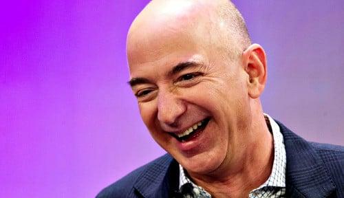 Foto Pantes Makin Kaya, Saham Amazon Milik Jeff Bezos Pecah Rekor Baru