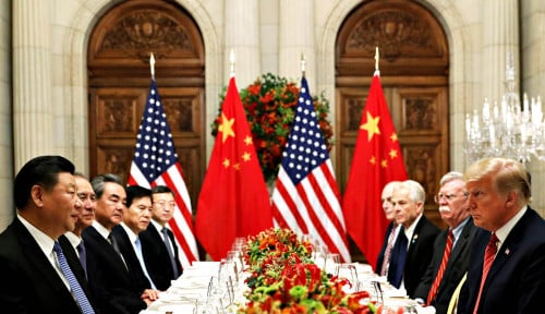 Foto Cooperation Best for Both China and U.S., Xi Tells Trump