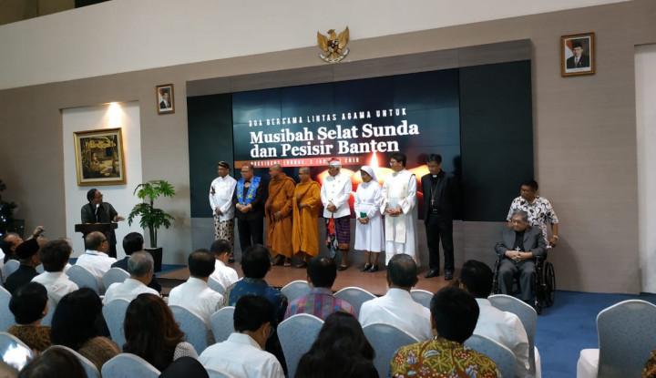 Jababeka Gelar Doa Bersama Lintas Agama bagi Korban Tsunami Selat Sunda - Warta Ekonomi