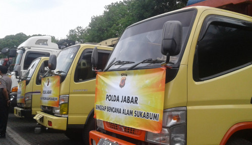 Foto Polda Jabar Salurkan Bantuan Bencana Senilai Rp1,8 M