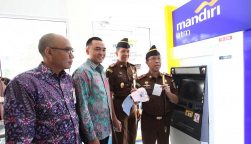 Foto Mandiri Fasilitasi Pembayaran Tilang Nontunai di Wilayah Jakarta Pusat