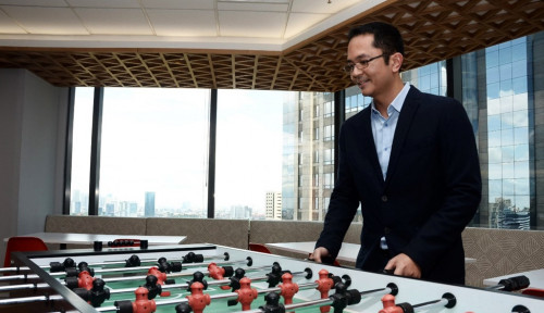 Foto Penasaran dengan Kantor Microsoft Indonesia? Ada Kursi Pijatnya Loh!