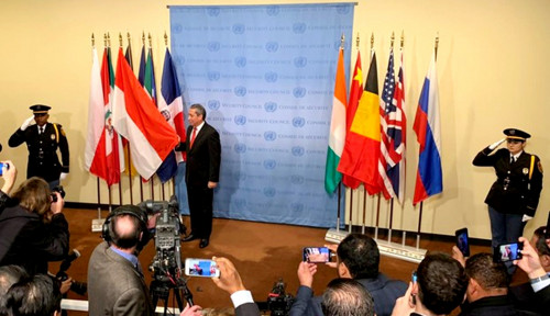 Foto Selamat! Indonesia Jadi Anggota Tidak Tetap DK PBB