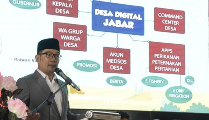 Ridwan Kamil: Penting, Digitalisasi dalam Sistem Pendidikan Jawa Barat - Warta Ekonomi