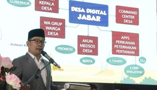 Foto Ridwan Kamil: Penting, Digitalisasi dalam Sistem Pendidikan Jawa Barat