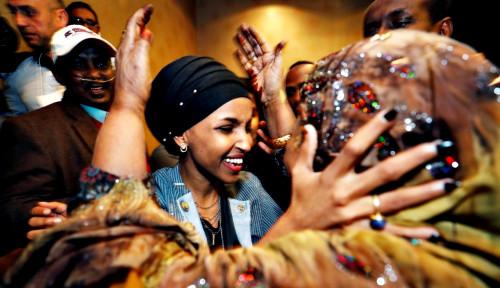 Foto Ini Dia Hijaber Pertama di Kongres AS