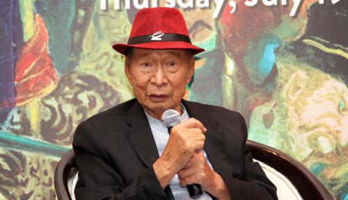 Foto Dikebumikan Hari Ini, Nama Pak Ci Tetap Abadi dalam Daftar Orang Terkaya Se-Tanah Air