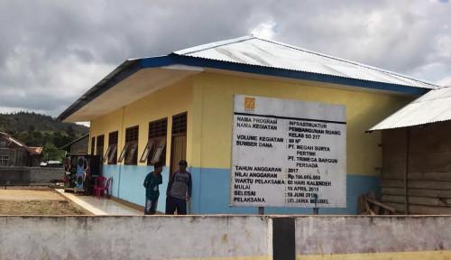 Foto Tingkatkan Pendidikan, Harita Nickel Bangun Gedung Sekolah dan Jadi Mediator Penambah Guru