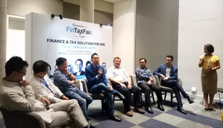 Foto Berita Edukasi Entrepreneur Soal Perpajakan-Finansial, Harmoni dan Mandiri Gelar Fintax Fair 2019