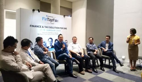 Foto Edukasi Entrepreneur Soal Perpajakan-Finansial, Harmoni dan Mandiri Gelar Fintax Fair 2019