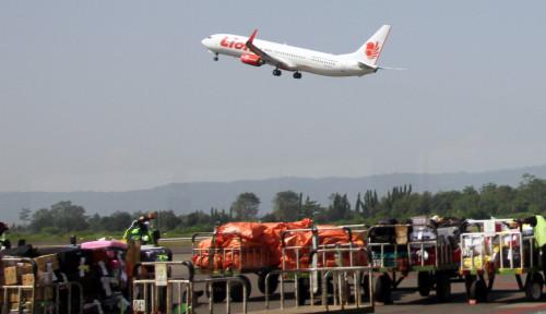 Foto Pesawat Rute Sorong-Manado Dikabarkan Terbang Miring, Lion Air Kasih Klarifikasi Ini