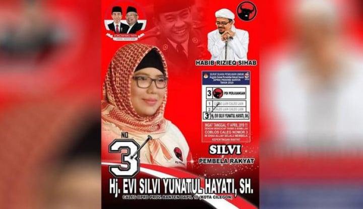 Foto Berita Caleg PDIP Puji Rizieq Shihab, Alasannya Bikin Kaget